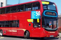 National Express West Midlands Bus Birmingham